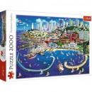Puzzle 2000 pieces - San Francisco Bay