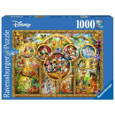 Puzzle 1000 pieces The most beautiful Disne moment