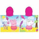 PEPPA PIG ( Peppa Pig ) GIRL'S PONCHO PP 52 4