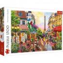 Puzzle 1500 pieces The charm of Paris