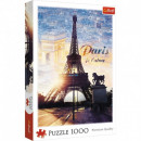 Puzzle 1000 Pieces Paris at dawn