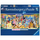 Puzzle 1000 pieces. Panorama Disney characters