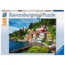 Puzzle 500 pieces Lake Como, Italy