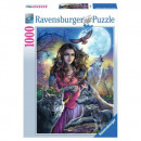 Puzzle Wolf Puzzle 1000 pieces Patroness of the Wo