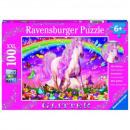 Puzzle Unicorns Puzzle 100 pieces Unicorn