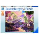 Puzzle 500 pieces Fairy-tale river
