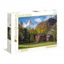 Puzzle 2000 pieces Fascination with the Matterhorn