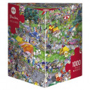 Puzzle 1000 pieces - Cycling race