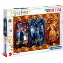 Puzzle 104 pieces Harry Potter