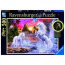 Puzzle Unicorns Puzzle 500 pieces Unicorns