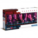 Puzzle 1000 pieces Panorama Netflix Stranger Th