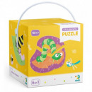 Dodo Puzzle 2-3-4 pieces Insects