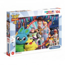 Puzzle 104 Stück Super Farbe Toy Story 4