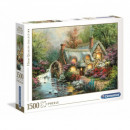 Puzzle 1500 Stück HQ Country Retreat