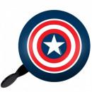 Großhandel Fahrräder & Zubehör: Captain America GLOCKE FÜR FAHRRAD RETRO CAPTAIN A