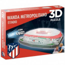 grossiste Chauffage & Sanitaire: Puzzle 3D Nanostad Stade Wanda Madrid