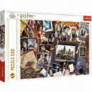 Puzzle 500 pieces Souvenirs from Hogwarts Harry Po