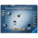 Großhandel Laden- und Lagerausstattung: Puzzle 654 Stück Krypt Silber