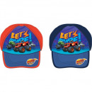 Blaze AND MONSTER MACHINES BOY'S HAT WITH DASH