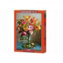 Puzzle 500 elementow Jesienne kwiaty bukiet
