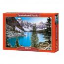 Puzzle 1000 elementow Kanada, Gorskie jezioro