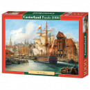 Puzzle 1000 pieces Old Ship Gdansk