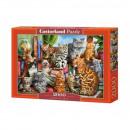 Puzzle 2000 pieces - Cat House