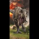 JURASSIC WORLD Jurassic World Volcano strandtörölk