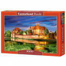 1000 pieces puzzle Malbork Castle Poland