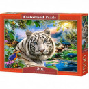 1500 piece puzzle White tiger Twighlight