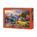 1500 pieces puzzle Mountain Refuge