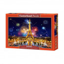 1000 piece puzzle New year in Paris