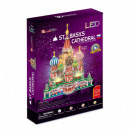 3D LED Puzzle St. Basil's Cathedral