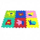 6 pieces, Foam Puzzle Animals