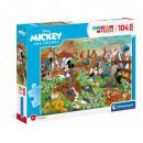 Puzzle DisneyMickey Puzzle 104 pieces Maxi - My