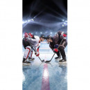 Photoprints Sweet home Ice hockey beach towel