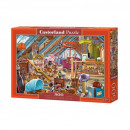 Puzzle 500 pieces Cluttered attic