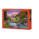 Puzzle 2000 pieces Sunset in Ramsau