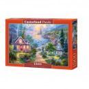 Puzzle of 1500 pieces of Costal Living