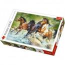Puzzle 1500 piezas - Tres caballos salvajes