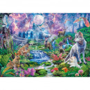 Puzzle 3000 piezas Moonlit Wild