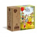 Puzzle Winnie Puzzle 2x20 pieces Play For Futur