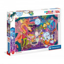 Puzzle 104 elements - Music band