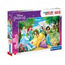 Puzzle DisneyPrincess Puzzle 60 pieces Maxi -