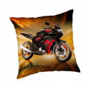 Photoprints Sweet home Motorbike Red Pillow