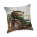 Photoprints Sweet home Tractor Green Pillow