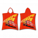 Cars Cars McQueen poncho