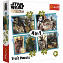 Puzzle 4in1 The Mandalorian Star Wars