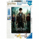 Puzzle 300 pieces Harry Potter and the Insignia of