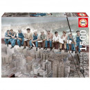 Puzzle 1500 pieces, Lunch in New York